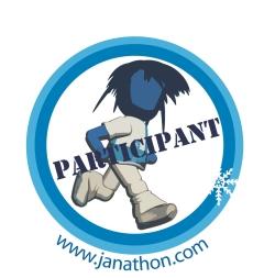 Janathon participant badge